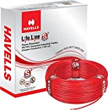 Havells Lifeline Cable 2.5 sq mm wire (Red)