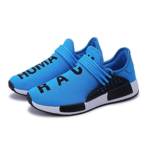 Net Women's 2018 Summer Shoes Students' and Travel Jiuyue Shoes Men's and Leisure Shoes Breathable Blue Lovers' Spring Sports Fashion shoes Shoes BqwxzxS4
