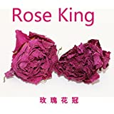 Honeylive Tea Bloom Red Rose King Blooming Dried Flower Petals Beauty Love (16oz/1lb)