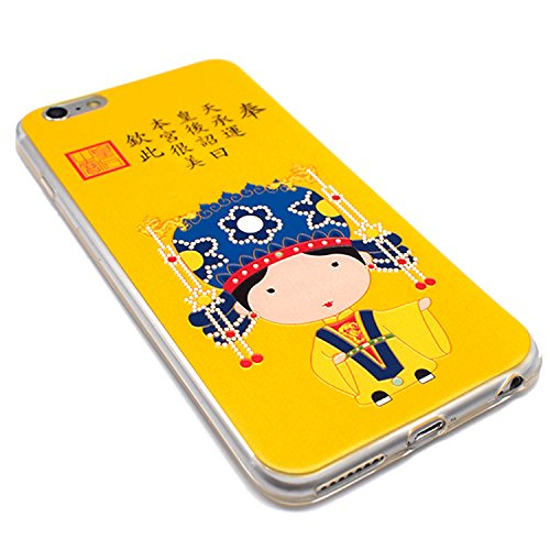 sterxy dynastie Ming chinois Empress Housse Coque souple pour iPhone 6/6S Plus