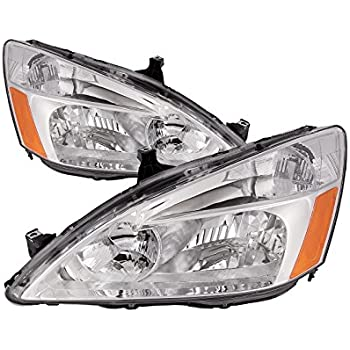 Honda Accord Sedan/Coupe Headlights Headlamps Driver/Passenger Pair New