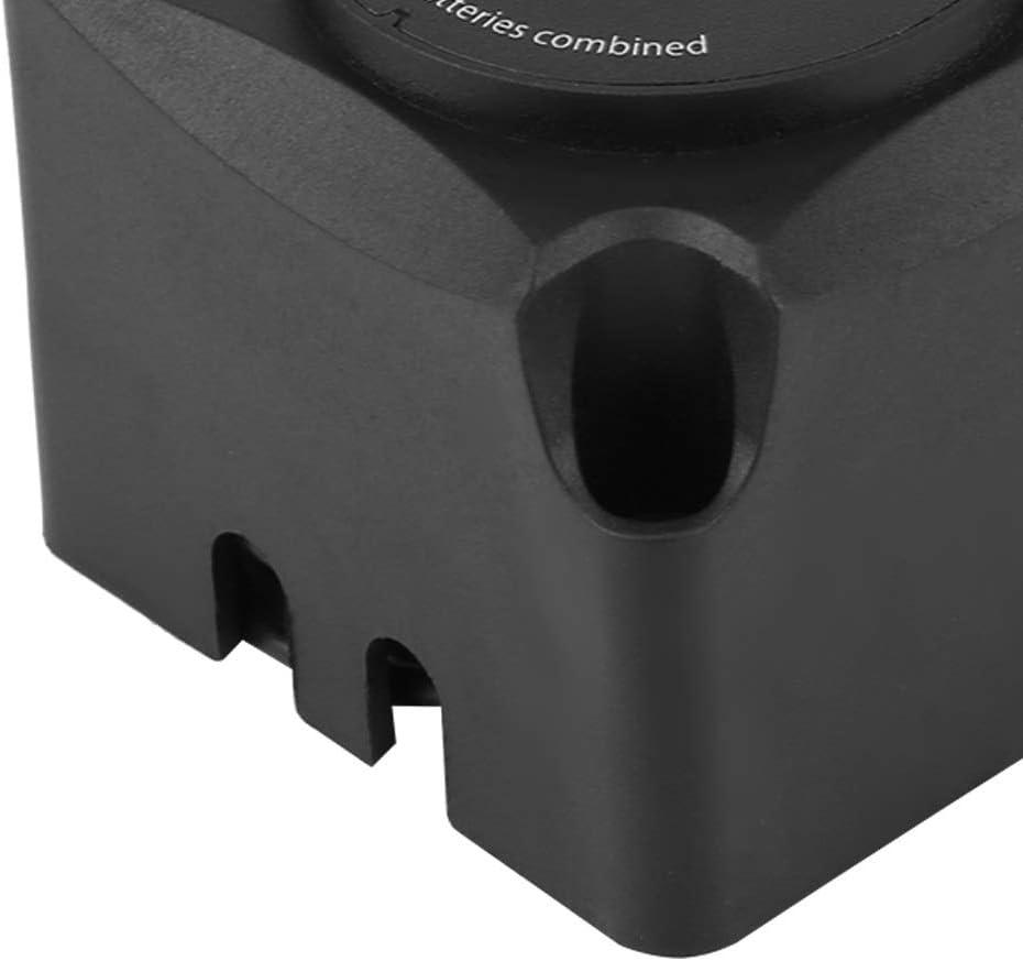 12.8V Nylon Nero Rel/è Sensibile Alla Tensione Doppia Batteria Isolatore 125A Modulo Di Ricarica Automatica BiuZi 1Pc DC 13.3V VSR Rel/è Sensibile Alla Tensione