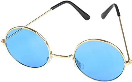 d345b9ea034 Amazon.com  Rhode Island Novelty Light Blue John Lennon Sunglasses ...