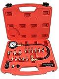 PMD Products Diesel Engine Compression Cylinder Pressure Tester Gauge Kit 0-1000psi TU-15