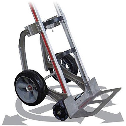 Magliner 302973 kit conversione trolley 2 ruote a maglie doppie ruote robot con pattini scale