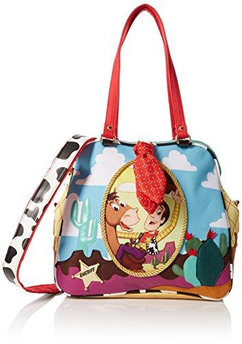 Irregular Choice Ride Like The Wind Bag, Bolsos de mano Mujer, Multicolor (Multi), 19x30x32 cm (W x H L)