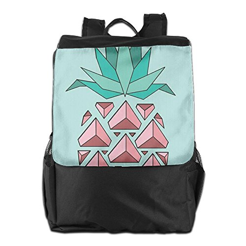 School Backpack Pineapple Men Personalized Pink Camping Outdoors Women Adjustable HSVCUY For Strap Shoulder and Dayback Travel Storage AqXx0w0E