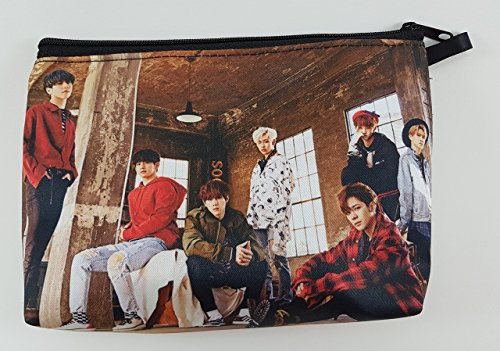 GOT7 GOT SEVEN KPOP Boy Band BIG Zip Pen Pencil / Cosmetic Makeup Case Bag Pouch Stationery - For Men Mark Jacobs