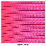 SGT KNOTS Nylon Paracord / 550 Cord 200 feet on Spool (Neon Pink)