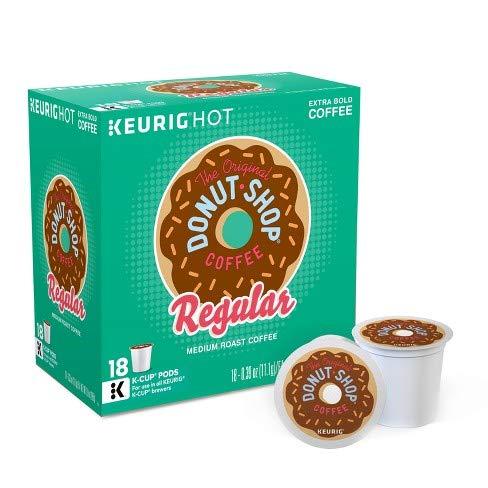 (The Original Donut Shop Regular Keurig Single-Serve K-Cup Pods, 18 Count (Packaging May Vary))