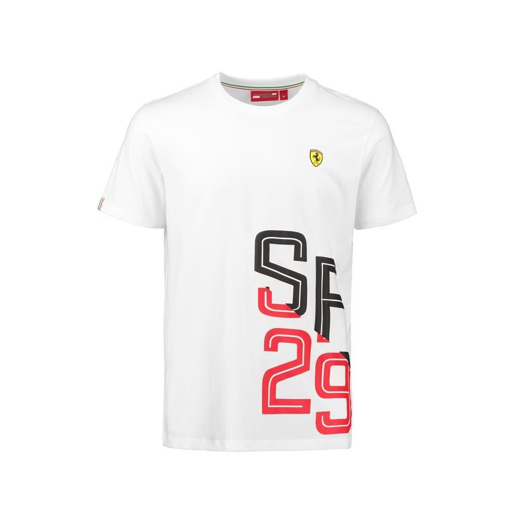 Scuderia Ferrari Formula 1 Mens Authentic White SF29 T-Shirt