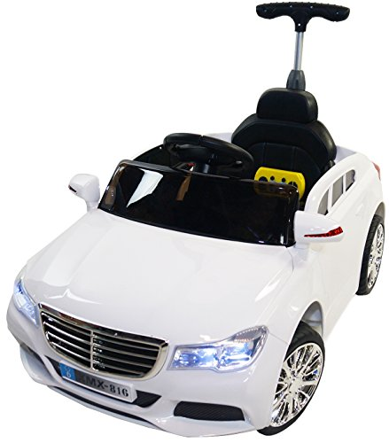 Mercedes-Style-Premium-Ride-On-Electric-Toy-Car-For-Kids-12V-Battery-Powered-LED-Lights-MP3-RC-Parental-Remote-Controller-suitable-For-Boys-Girls-Real-Paint-White
