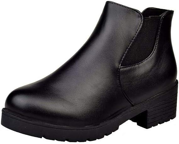 Haut Femmes Chaussures Mode à Bottines Talons Bottes Chelsea Yb6f7mgIyv