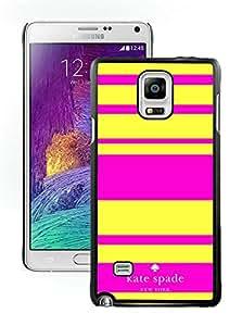 Newest Kate Spade Samsung Galaxy Note 4 Case ,Popular And Unique Designed Kate Spade Samsung Galaxy Note 4 Black Phone Case 045
