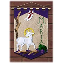 First Communion Banner Kit - 12 x 18 - Lamb
