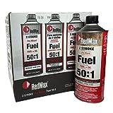 Set Of 6 RedMax Pre-Mixed 2-Stroke High Octane Fuel & Oil 1 Quart