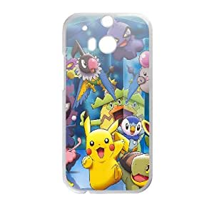 HTC One M8 Cell Phone Case White pokemon-friends-anime Fmzuh