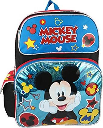 Disney Mickey Mouse 16'' Large Backpack by Mickey Mouse