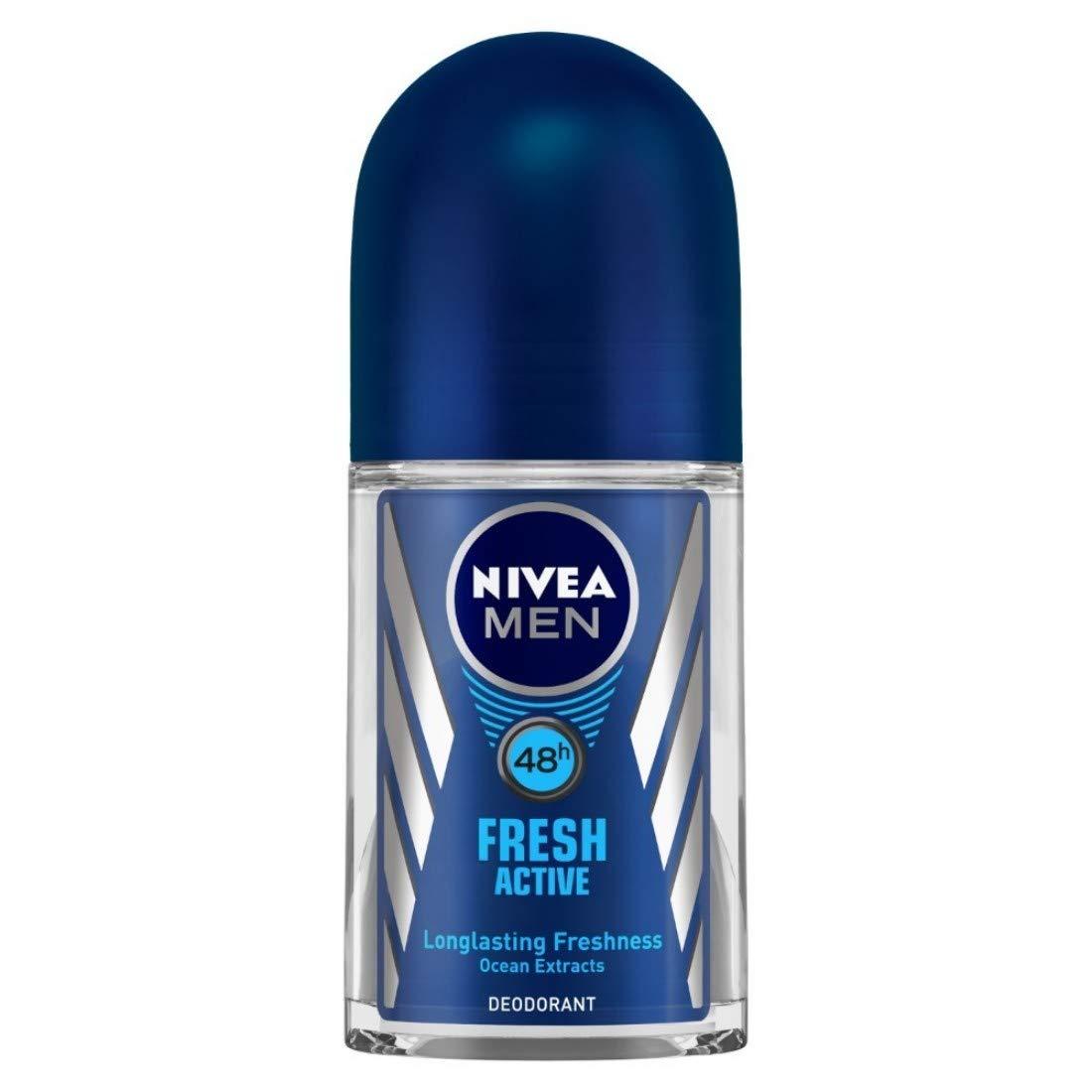 Buy NIVEA Men Deodorant Roll-On, Fresh Active Original, 50ml ...