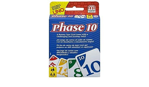 Amazon.com: Shopping E-Kart Phase 10 Card Game, Multi Color ...