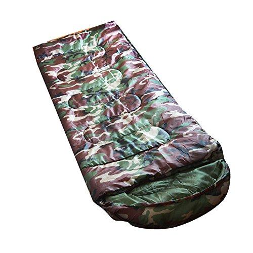 CUTICATE Lightweight Single Sleeping Bag, Waterproof Envelope Warm Spring Autumn for Camping Hiking Travel Hammock Outdoor Activities