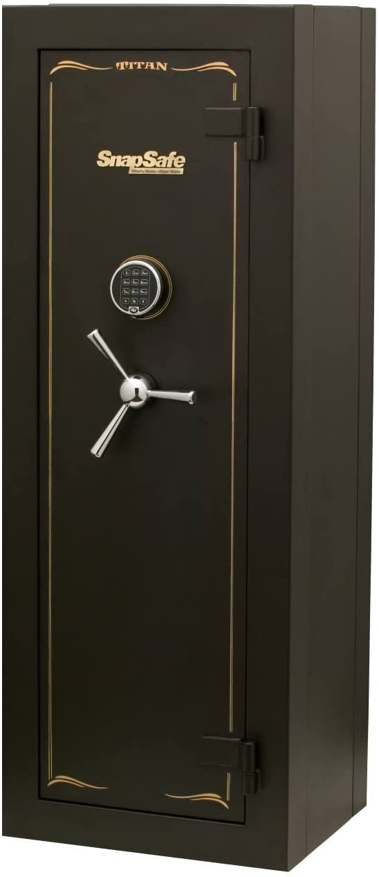 SnapSafe Tall Titan Digital Modular Safe, Storage for Firearms and Valuables for Home or Office, Security Gun Safe with Electronic Lock, Fire Protection, Measures 59