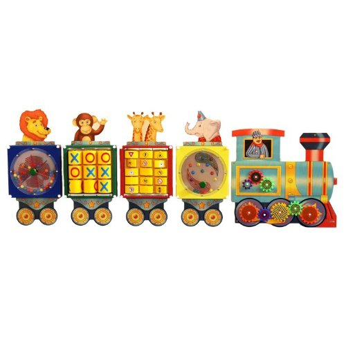 Anatex Busy Train Activity Panel Playset by Anatex (Image #1)