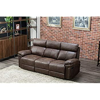 Amazon Com Flieks Sectional Recliner Sofa Set 3 Seat