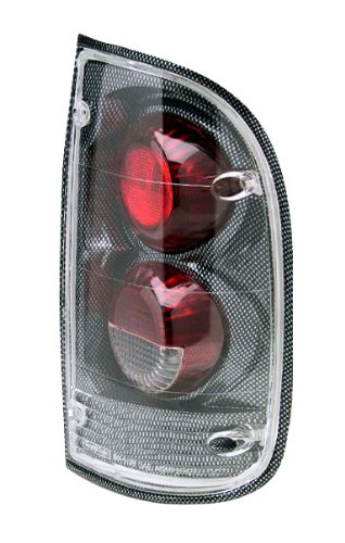 IPCW CWT-2015C2F Toyota Tacoma 2/4WD Carbon Fiber Euro Tail Light - Pair