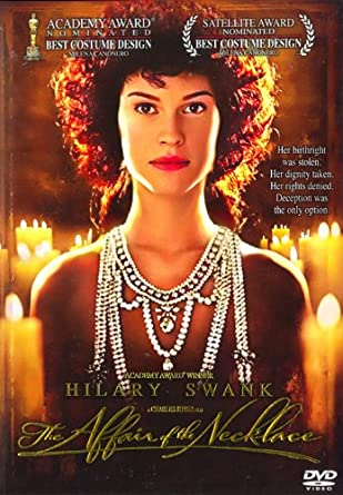 The Affair of The Necklace 2001 Hilary Swank, Jonathan Pryce DVD DVD Hila  Importato da Regno Unito: Amazon.it: Film e TV