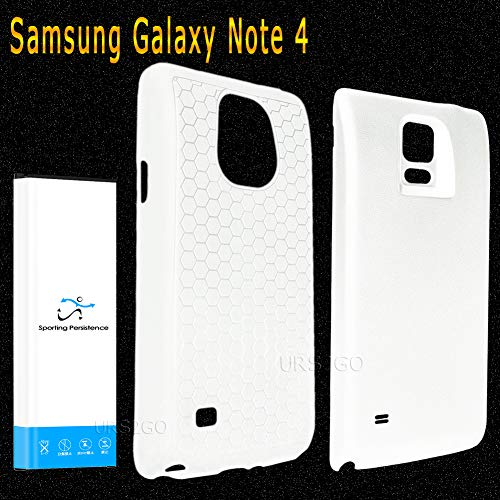 New 3.85V High Capacity 11900mAh Net10 Samsung Galaxy Note 4 4G LTE N910F Extended Battery Back Cover TPU Case Mobile Phone - Sporting