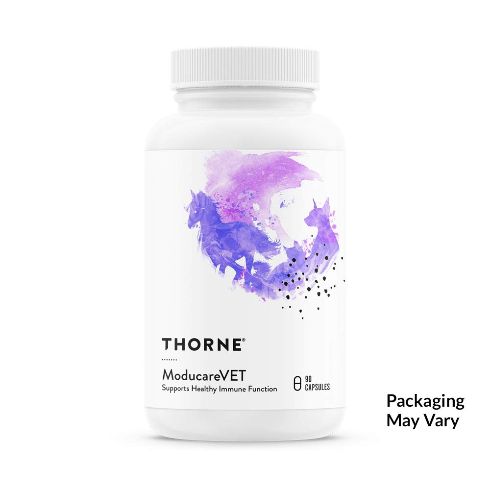 Thorne Research Veterinary ModucareVET Supports Healthy Immune Function 90 Capsules