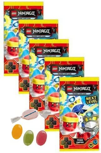 "Lego ® Ninjago ™ 5 Series /""Next level/"" Trading Card Game Starter Pack 5 Booster"