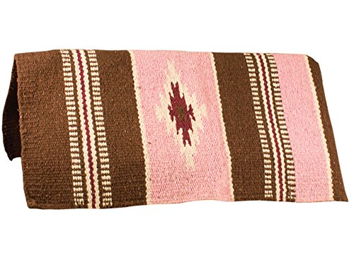 Tahoe Tack Hand Woven Navajo Acrylic Western Horse Saddle Blanket - Multiple Colors - - Set Comforter Paso El