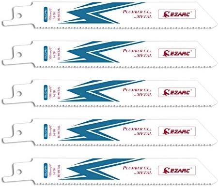 US PRO Tools 5 x 200mm Reciprocating Recip Saw Blades For Metal 14TPI 9137 NEW
