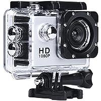 Howley Mini 1080P Full HD DV Sports Recorder Car Waterproof Camera Camcorder (Silver)