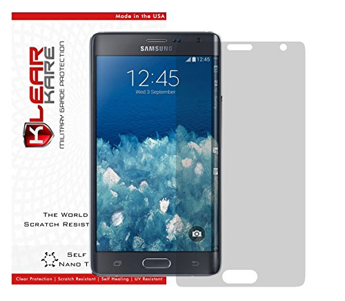 (KlearKare Invisible Screen Shield Protector for Samsung Note Edge (Edge to Edge Protection))