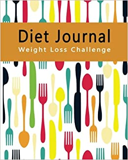 diet journal weight loss challenge personal food record notebook