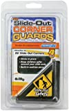 Camco 42203 Black Slide-Out Corner Guard - Pack of 4
