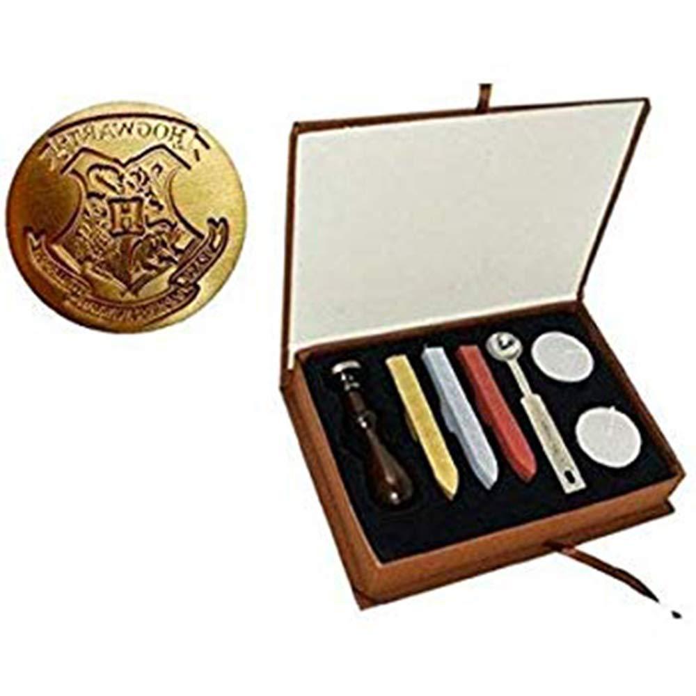 DLD Retro Wachs Siegel Briefmarken Kit Vintage Handwerk Handwerk Handwerk Stempel Sealing Maker Stick Geschenk Box Set B07H4L124H | Langfristiger Ruf  f5de0e