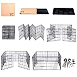 Dog Exercise Pen Pet Playpens for Small Dogs