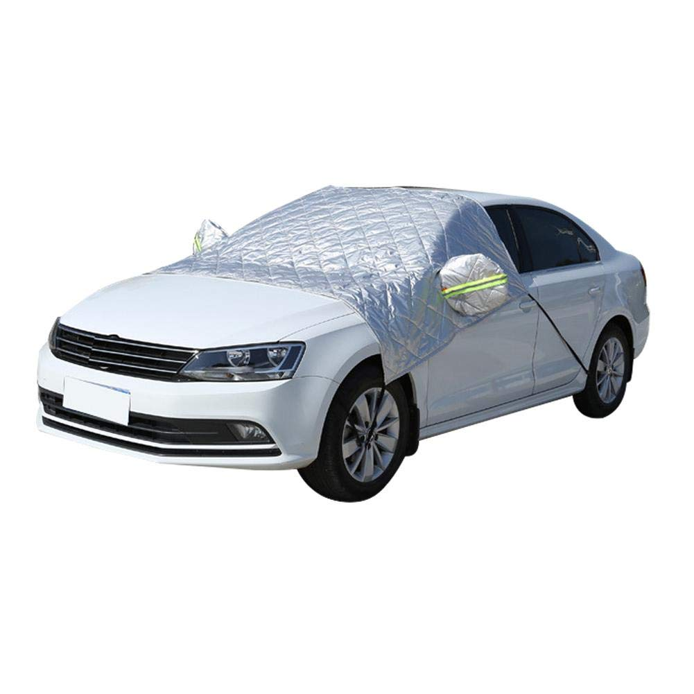 Liuxi Windscreen Snow Cover, Car Windscreen Frost Cover Wind Proof Snow Protector
