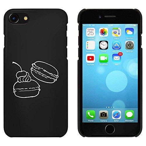 Noir 'Macarons' étui / housse pour iPhone 7 (MC00073925)