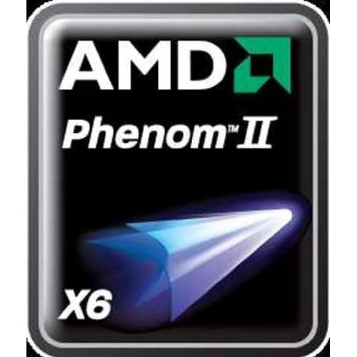 Image of AMD Phenom - II X6 1055T Six-Core Processor - 2.8GHz, 9MB L3 Cache CPU Processors
