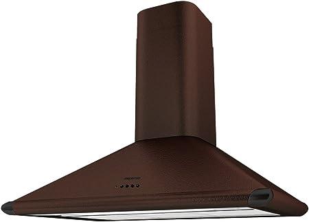 Mepamsa Perla H 90 V2 Campana aspirante decorativa de pared, color cobre, 15 W, 3 Velocidades: Amazon.es: Hogar