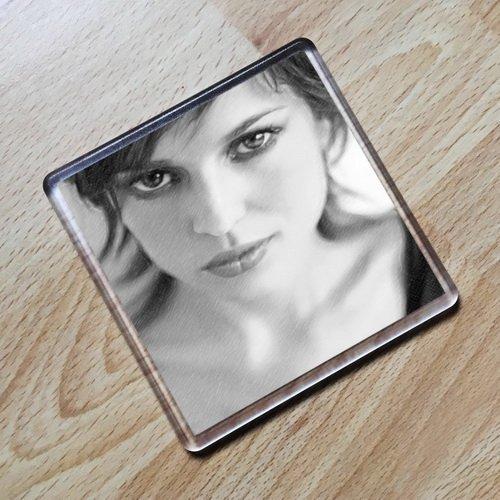ELENA ANAYA - Original Art Coaster #js001