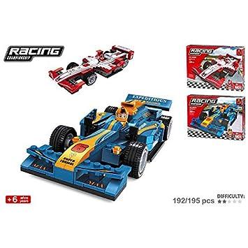 Juego construccion Coche F1 Racing Surtido: Amazon.es ...