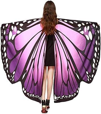 MINTIME - Disfraz de Pavo Real con alas de Hada de Gasa para ...