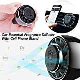 Cell Phone Holder for Car, Magnetic Car Phone Mount, Air Vent Clip Phone Holder, Cell Phone Stand, Car Air Freshener,Car Fragrance Diffuser, Car Air Purifier Fan Air Force,Air Condition Phone Mount