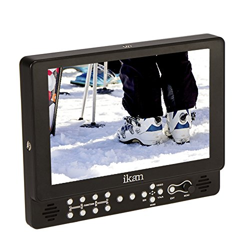 Ikan VX9w 1 9 Full HD Plus 3G SDI Monitor Black